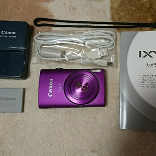 キヤノン(Canon)のCanon IXY600F パープル(コンパクトデジタルカメラ)