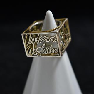 ヴィヴィアンウエストウッド(Vivienne Westwood)のリング アンティーク ヴィヴィアンウエストウッド 四角 r231(リング(指輪))