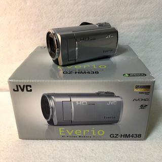 ケンウッド(KENWOOD)のJVC ケンウッド ハイビジョンビデオカメラ GZ-HM438-S(ビデオカメラ)