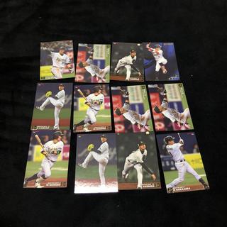 オリックスバファローズ(オリックス・バファローズ)の2017年度オリックスバッファローズプロ野球チップスカード12枚(応援グッズ)