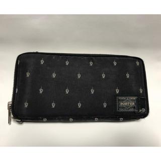 bfa00d8f4a6f アンダーカバー(UNDERCOVER)のUNDERCOVER × PORTER ラウンドジッパー 財布(長財布)