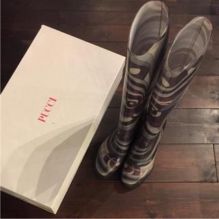 エミリオプッチ(EMILIO PUCCI)のEMILIO PUCCI☆レインブーツ サイズ39(レインブーツ/長靴)