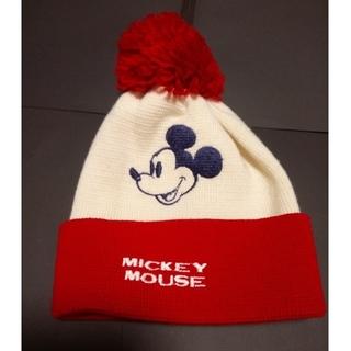 ミッキーマウス(ミッキーマウス)のミッキーマウス ニット帽子(ニット帽/ビーニー)