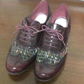 クラークス(Clarks)のクラークス レースアップシューズ ウィングチップ(ローファー/革靴)