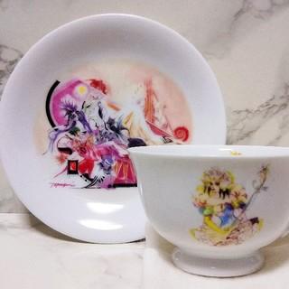 ナルミ(NARUMI)のサガフロンティア 白薔薇姫カップ&ソーサー ミレニアムコレクション(グラス/カップ)