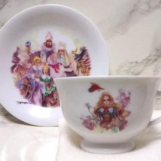 ナルミ(NARUMI)のサガフロンティア2 マリーカップ&ソーサー ミレニアムコレクション(グラス/カップ)
