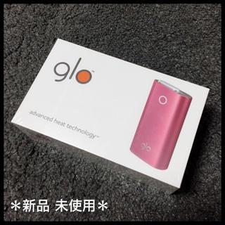 グロー(glo)の*glo*新品未使用/限定色 シャンパンレッド(タバコグッズ)