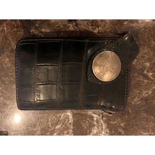 ケイシイズ(KC,s)のケーシーズ KCS 財布 サイフ ウォレット レザー クロコ 本革 ケイシイズ(折り財布)