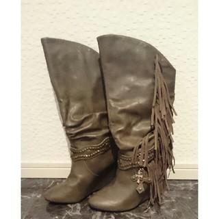 アルバローザ(ALBA ROSA)のロングブーツ(ブーツ)