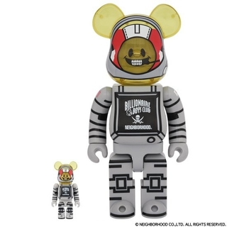 MEDICOM TOY - BE@RBRICK  NEIGHBORHOODコラボ 100% & 400%