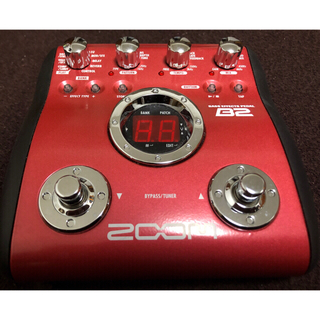 ズーム(Zoom)のZOOM B2 名機(ベースエフェクター)