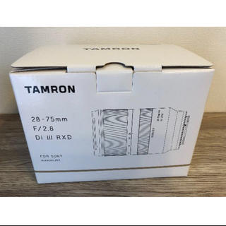 タムロン(TAMRON)のTAMRON タムロン 28-75mm F2.8 RXD A036(レンズ(ズーム))