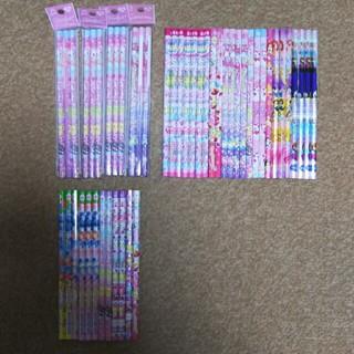 女の子用 かきかた 鉛筆 2B 36本 B 12本 48本セット(鉛筆)