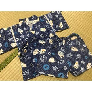 甚平 男の子 90サイズ(甚平/浴衣)