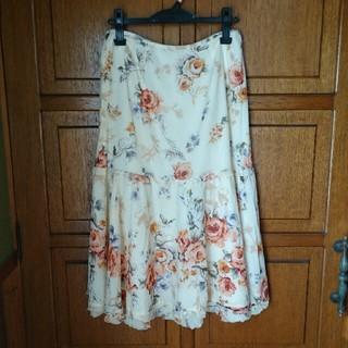 インゲボルグ(INGEBORG)の【インゲボルグ】フレアースカート(ひざ丈スカート)