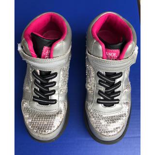 #子供用#運動靴#インナープレス#ハイカットスニーカー 21.0cm