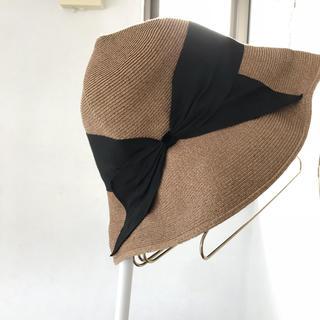 バーニーズニューヨーク(BARNEYS NEW YORK)のmio様専用 アシーナニューヨーク 帽子(麦わら帽子/ストローハット)