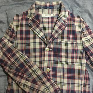 オムニゴッド(OMNIGOD)のOMNIGOD チェックジャケット メンズ サイズ2(テーラードジャケット)