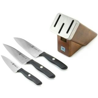ツヴィリングジェイエーヘンケルス(Zwilling J.A. Henckels)のツヴィリング/包丁(センスL)+セルフシャープニング ナイフブロック 4点セット(調理道具/製菓道具)