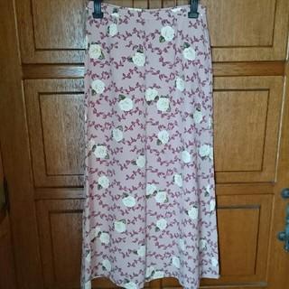 インゲボルグ(INGEBORG)の4【インゲボルグ】薔薇リボンロングスカート(ロングスカート)