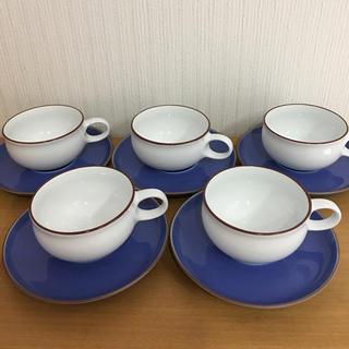 ハクサントウキ(白山陶器)の白山陶器 G型ティーカップアンドソーサー 5客(食器)