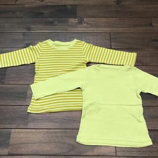 セレク(CELEC)のセレク 長袖 カットソー 2枚セット サイズ80(シャツ/カットソー)