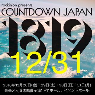 CDJ12/31チケット(音楽フェス)