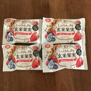 カメダセイカ(亀田製菓)のしっとりもっちり玄米果実(菓子/デザート)