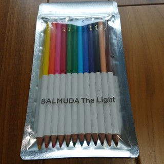 バルミューダ(BALMUDA)のBALMUDA ノベルティ色鉛筆(ペン/マーカー)