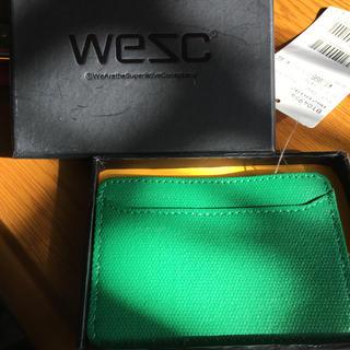 ウィーエスシー(WeSC)のパスケース(名刺入れ/定期入れ)