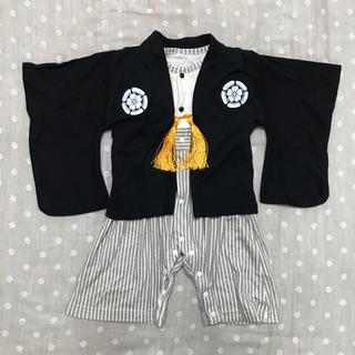 袴ロンパース 70(和服/着物)