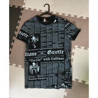 ジョンガリアーノ(John Galliano)のジョンガリアーノ John galliano(Tシャツ(半袖/袖なし))