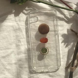 トゥデイフル(TODAYFUL)のretoro iPhone case handmade(スマホケース)