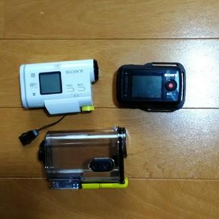 ソニー(SONY)のSonyデジタルビデオカメラレコーダーHDR-AS100V(ビデオカメラ)