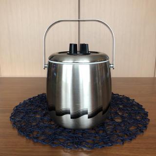 ムジルシリョウヒン(MUJI (無印良品))のアイスペール ステンレス 昭和レトロ(容器)