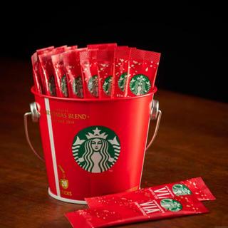 Starbucks Coffee - ギフト袋付き🛍スタバ★ヴィアコーヒーエッセンス クリスマスブレンド20本入り