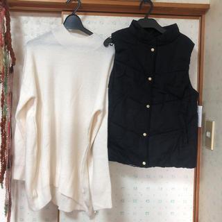 ムジルシリョウヒン(MUJI (無印良品))のタグつき新品未使用ベストとニット福袋(ニット/セーター)