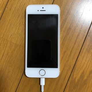 アイフォーン(iPhone)のiPhoneSE simフリー ゴールド(スマートフォン本体)