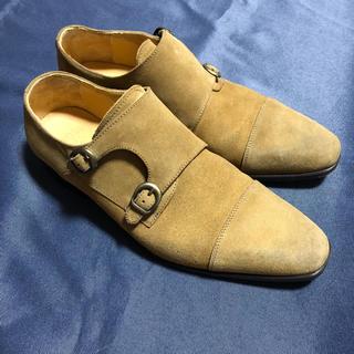 イルカンパゴ(ILCAMPAGO)の✳︎IL CAMPAGO イルカンパゴ スウェードダブルモンクストラップ(ローファー/革靴)