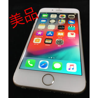 アイフォーン(iPhone)のiPhone 6 ゴールド 64 GB au 美品☆彡.。(スマートフォン本体)
