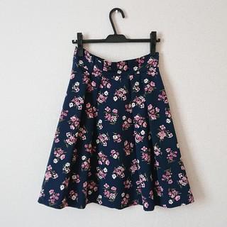 クチュールブローチ(Couture Brooch)の❁クチュールブローチ お花柄スカート❁(ひざ丈スカート)