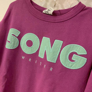グルービーカラーズ(Groovy Colors)の新品★グルービーカラーズ  ワイドスウェット(Tシャツ/カットソー)
