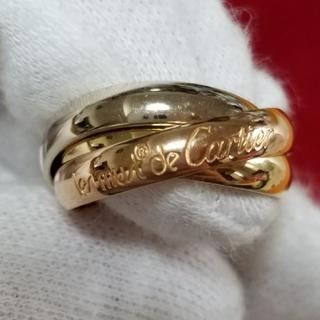 カルティエ(Cartier)のクリスマスセール! 超美品 カルティエ トリニティリング 48号(約8号)(リング(指輪))