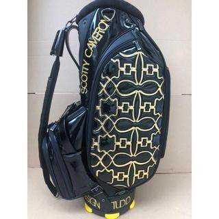 スコッティキャメロン(Scotty Cameron)のScotty Cameron スコッティキャメロン キャディーバッグ黒x黄色(バッグ)