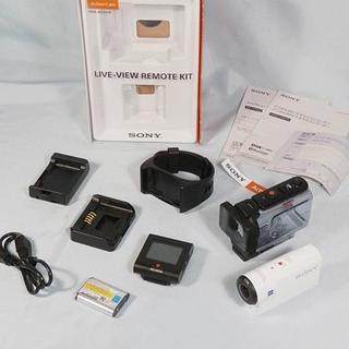 ソニー(SONY)のna様専用 SONY アクションカム [HDR-AS300R] リモコン付(ビデオカメラ)