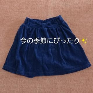 シューラルー(SHOO・LA・RUE)のスカート風パンツ ウェストリボン 秋 冬(パンツ/スパッツ)