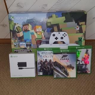 エックスボックス(Xbox)のXBOX ONE xbox one s 500GB カセットつき(家庭用ゲーム機本体)