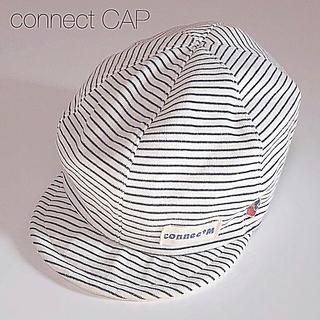 コネクト(connect)の帽子 キャップ CAP connect  cap シンプル ゴム付き 男女兼用(キャップ)