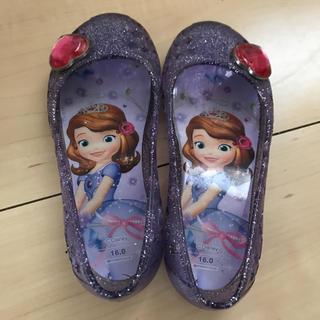 ディズニー(Disney)の16cm ソフィア ビニールシューズ パンプス(サンダル)