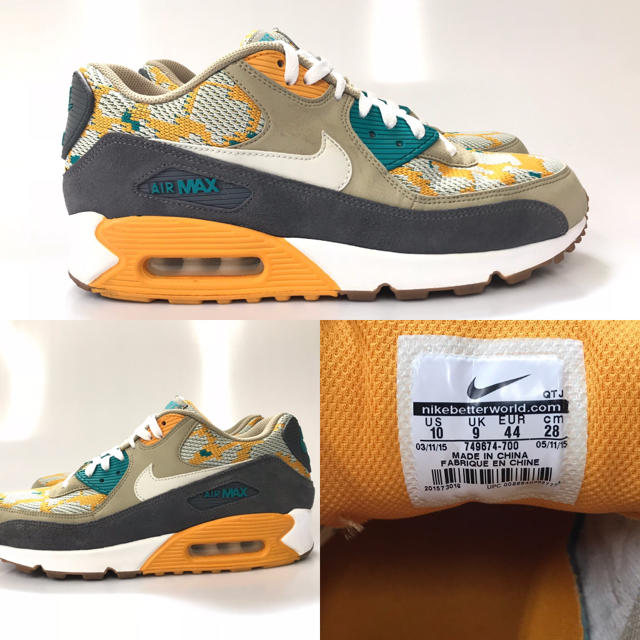 official photos 5b0d3 bcc4f NIKE AIR MAX 90 PA CANYON GOLD メンズ